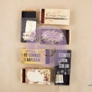 Prima The Archivist Matchboxes 6/Pkg